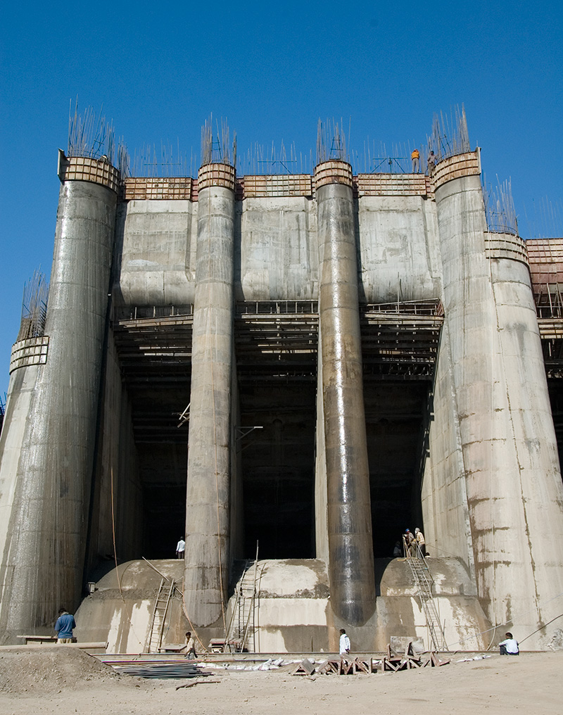 Indian construction project