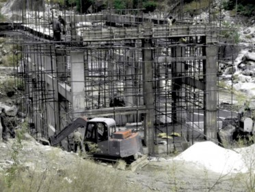 IHDC - Powerhouse in construction